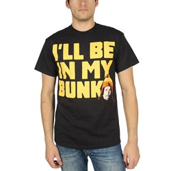 Firefly - Mens I'Ll Be In My Bunk T-Shirt In Black