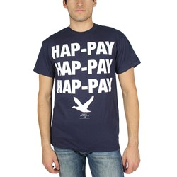Duck Dynasty - Mens Hap-pay Hap-pay T-Shirt in Navy