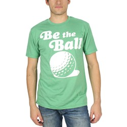 Caddyshack - Mens Be The Ball T-Shirt In Kelly Green