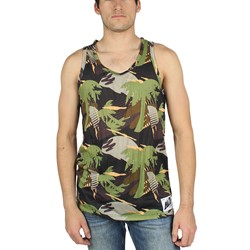 Neff - Mens Palms Tank Tank Top In Camo