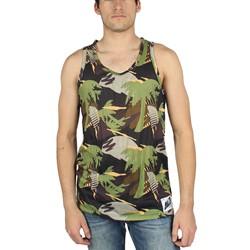 Neff - Mens Palms Tank Tank Top In Camo