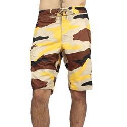 Stussy - Mens Beach Camo Boardshorts in Gold
