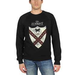 Profound Aesthetic - Victory Shield Crewneck Sweater in Black