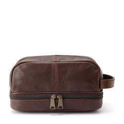 Fossil - Estate Dark Travel Kit in Brown