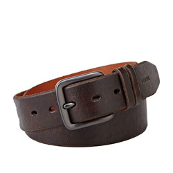 Fossil - Jason Dark Belt in Brown
