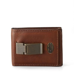 Fossil - Estate Idf Front Pocket Bifold Wallet in Cognac