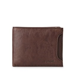Fossil - Ingram Sliding 2-in-1 Bifold Wallet in Brown