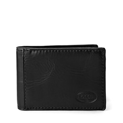 Fossil - Norton Flip Bifold Wallet in Black