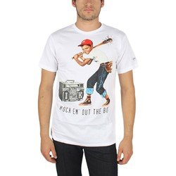 IM King - Mens Lil Slugger T-Shirt in White