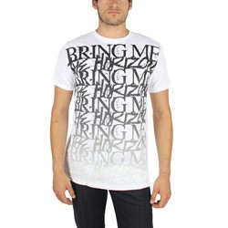 Bring Me The Horizon - Bmth Stacked Mens T-Shirt In White