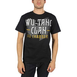 Wu-Tang Clan - Mens 36 Chambers T-Shirt In Black