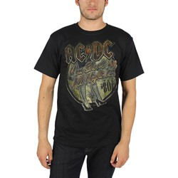 AC/DC - Mens You Shook Me T-Shirt In Black