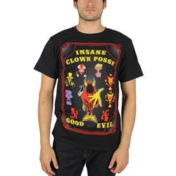 Insane Clown Posse - Mens Good & Evil T-Shirt In Black