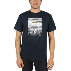 Akomplice - Mens Old McDonald's Farm T-Shirt in Navy