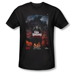 Four Horsemen - Mens Book One T-Shirt In Black