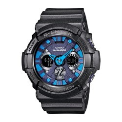 G-Shock - 200SH Teal Accent Watch in Black