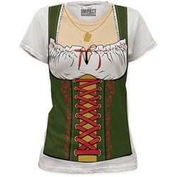 Impact - Originals Octobeerfest Barmaid Women's Tunic In Vintage White