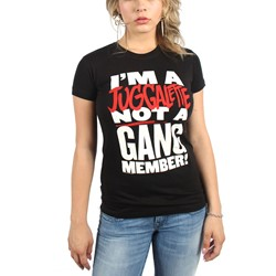 Insane Clown Posse - Womens We Are Family Juggalette T-Shirt In Black