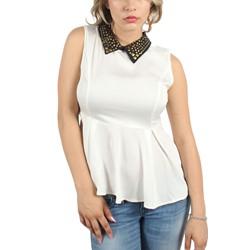 Double Zero - Womens Pamela Top in White