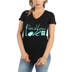 Young and Reckless - Womens Lover T-Shirt in Black
