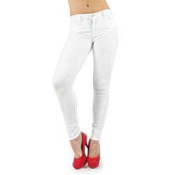 Bleulab - Womens 8-Pocket Legging Reversible Jeans