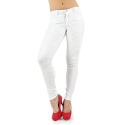 Bleulab - Womens 8-Pocket Legging Reversible Jeans