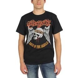 Aerosmith - Mens Back In The Saddle T-Shirt in Black