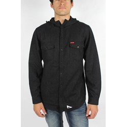 Atticus - Mens Okeh Hooded Jacket in Black