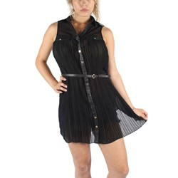 Double Zero - Womens Sabrina Dress in Black