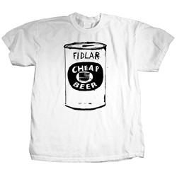 Fidlar - Mens Cheap Beer T-Shirt in White