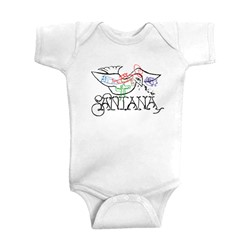 Santana - Infant Dove - Baby Onesie in White