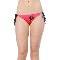 Affliction -  Womens Broken Heart Bikini Bottom In Pink