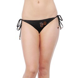 Affliction -  Womens Lost Souls Bikini Bottom In Black