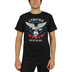 Lynyrd Skynyrd - Mens Best of the Best T-Shirt in Black