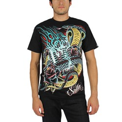 Sullen - Mens Hypnotize T-Shirt in Black