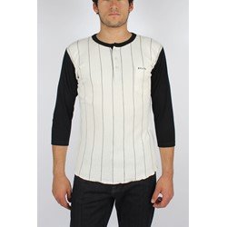 Brixton - Mens Detroit Shirt in White/Black