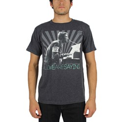 John Lennon - Mens All We Are Saying T-Shirt In Charcoal Heather