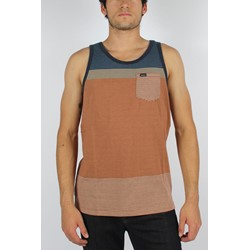 RVCA - Mens Commander Tank Top in Navy