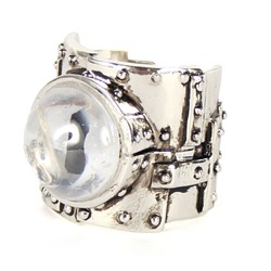 Han Cholo - Heavy Metal 2013 Ring in Silver/Animal