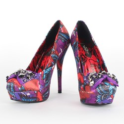 Iron Fist - Womens Havana Breeze Platforms in Purple