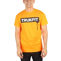 Trukfit - Mens Trukfit Drip T-Shirt in Shocking Orange