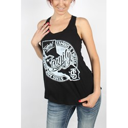 Famous Stars and Straps - Womens Twitch Cali Tank Top in Black