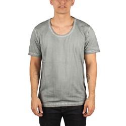 Diesel - Mens T-Status-R T-Shirt in Grigio