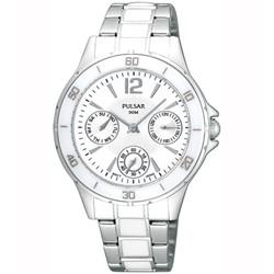 Pulsar - Womens PU6021 Ceramic Bezel Watch