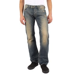 Diesel - Mens Larkee Relaxed Jeans, Color: 0814B