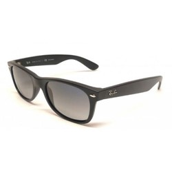 Ray-Ban - Mens New Wayfarer Sunglasses in Matte Black, Eye Size: 52mm