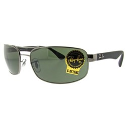 Ray-Ban RB3445 Sunglasses in 004 Gunmetal