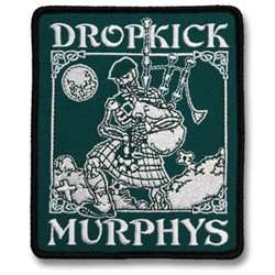 Dropkick Murphys - Skeleton Piper Patch