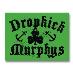 Dropkick Murphys - Shamrock & Anchor Sticker
