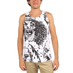 Mishka - Mens Zombie VII Revisited Tank Top in White